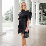 Alicia Wood, Dallas Lifestyle Blogger, Dallas Lifestyle Expert, Dallas Fashion Blogger, Storets Jenny Wrap Dress, Givency Nano Horizon Bag,