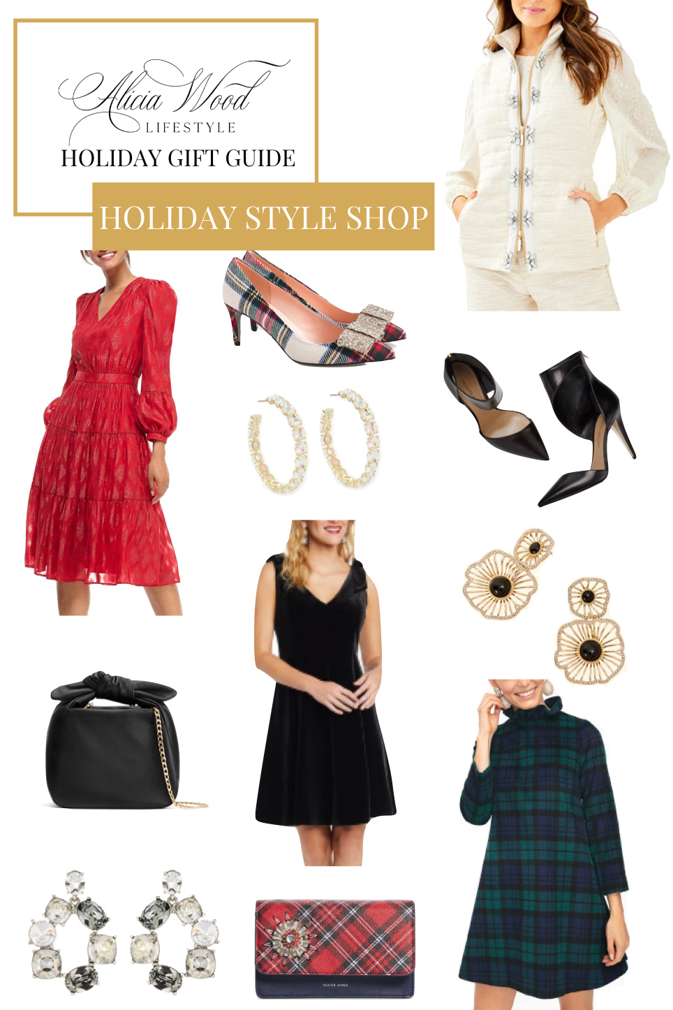 Five Christmas Party Looks You'll Love + Holiday Style Shop