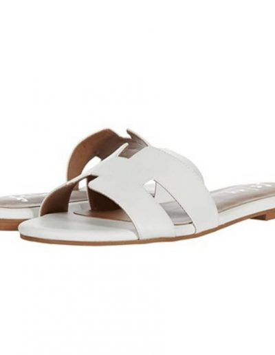 White French Sole Sandals