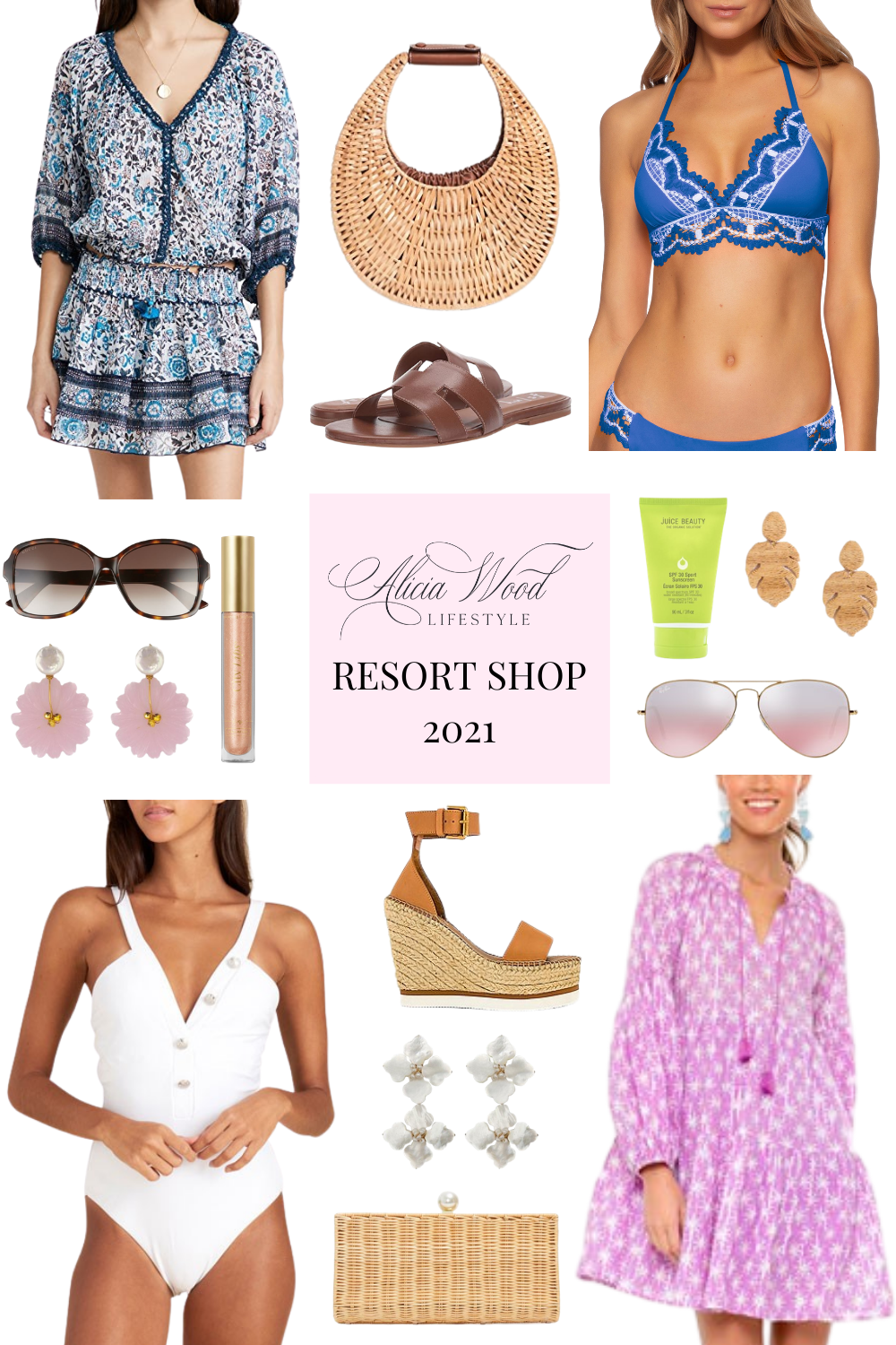 Resortwear Shop and Favorite Warm Weather Vacation Styles