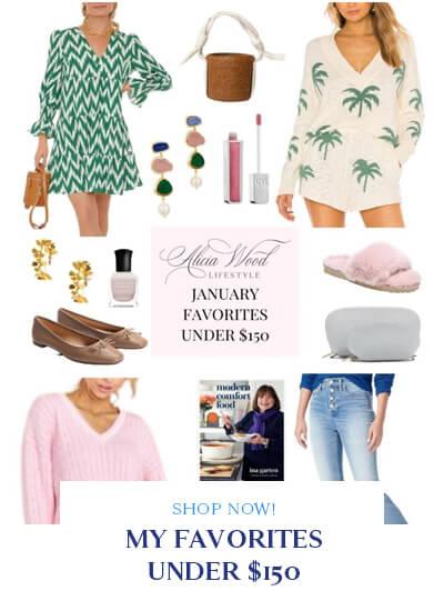 January Favorites Under $150
