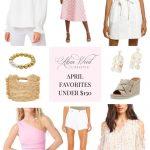 April Style Favorites Under $150