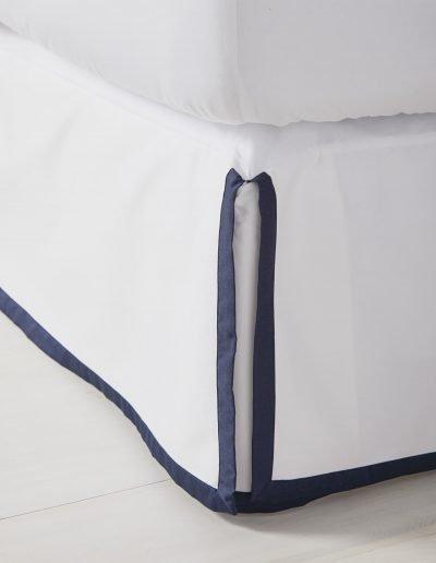Border Frame Bedskirt