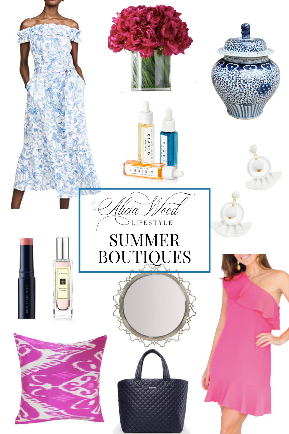 Alicia Wood Lifestyle Summer Boutiques