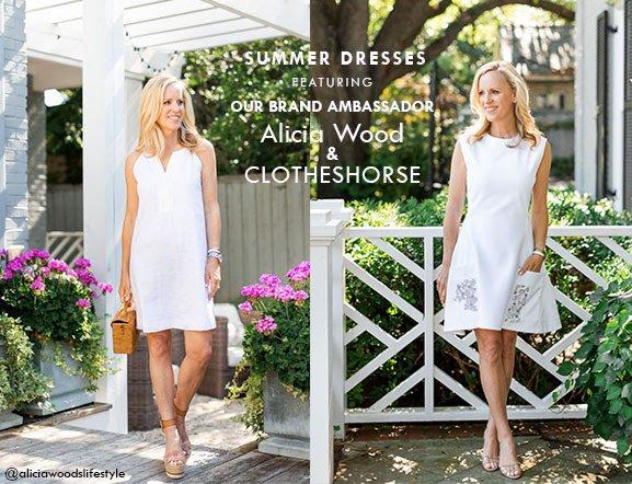 Alicia Wood & Clotheshorse brand ambassador promo