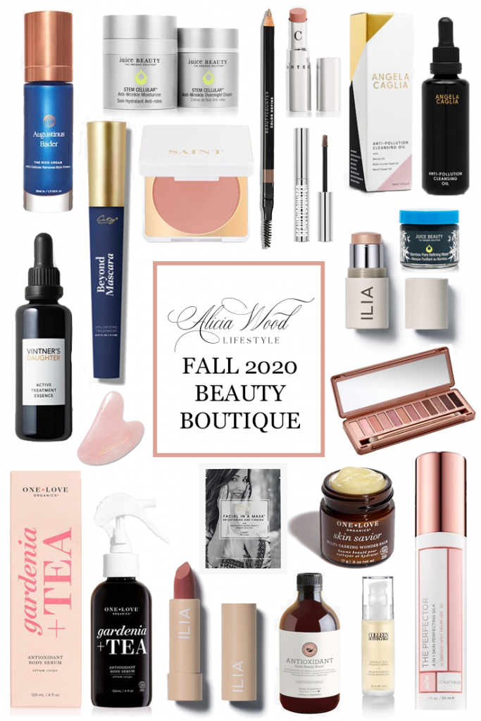 Alicia Wood Lifestyle Fall 2020 Beauty Boutique