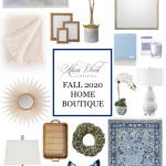 Alicia Wood Lifestyle Fall 2020 Home Decor Boutique