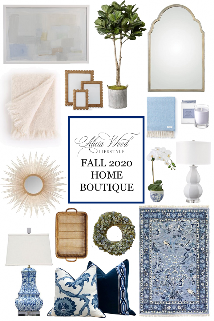 Alicia Wood Lifestyle Fall 2020 Home Decor Boutique