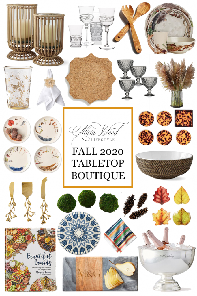 Alicia Wood Lifestyle Fall Tabletop Boutique