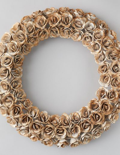 Iron Rosebud Wreath