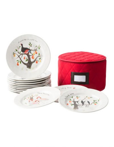 Juliska 12 Days Of Christmas Dessert Plates