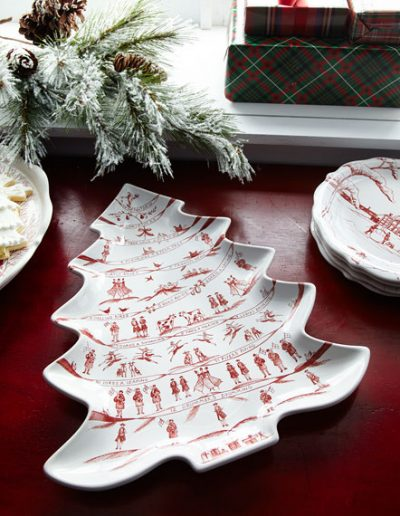 Juliska Winter Frolic Platter