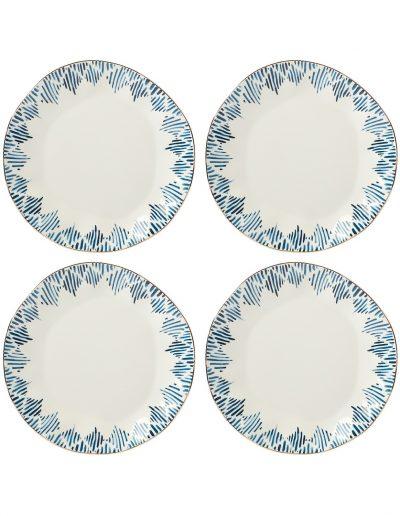Lenox Blue Dinner Plates