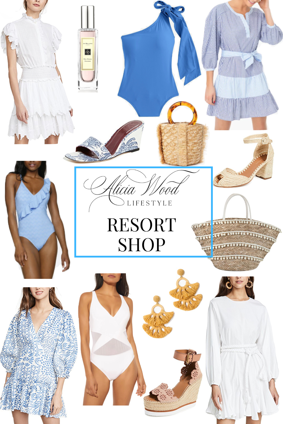 Wanderlust Wednesday: Resort Shop | Warm Weather Getaway Style