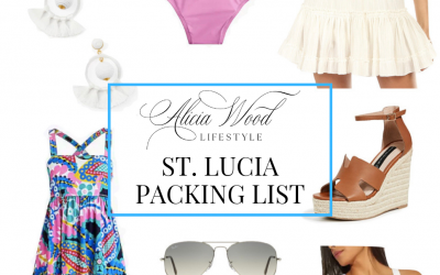 St. Lucia Packing List