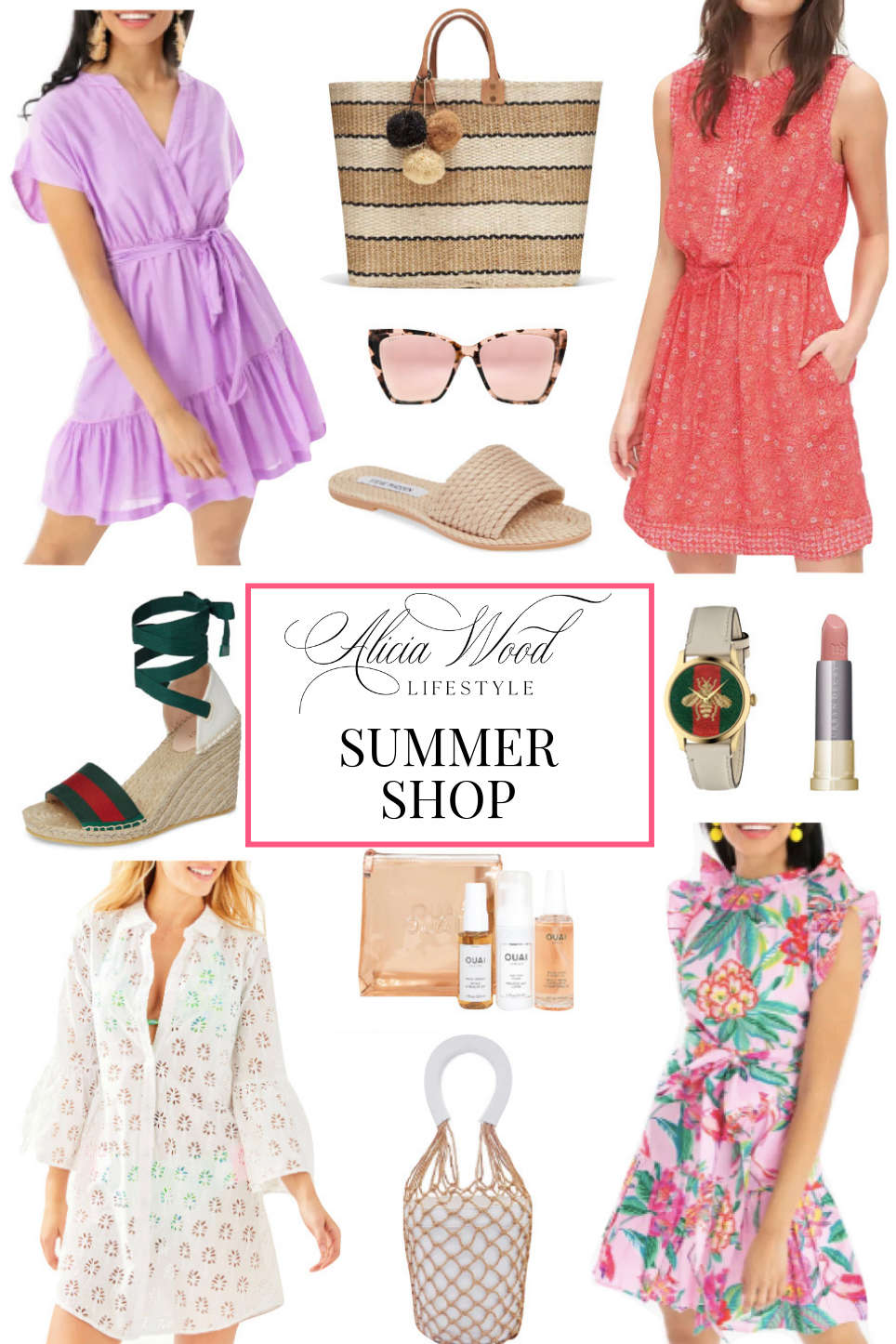 Alicia Wood Lifestyle Summer Shop