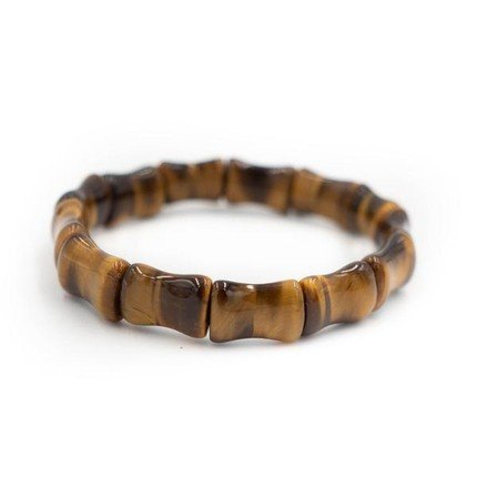 Tiger's Eye Bamboo Bangle-Alicia Wood Lifestyle Fall Style