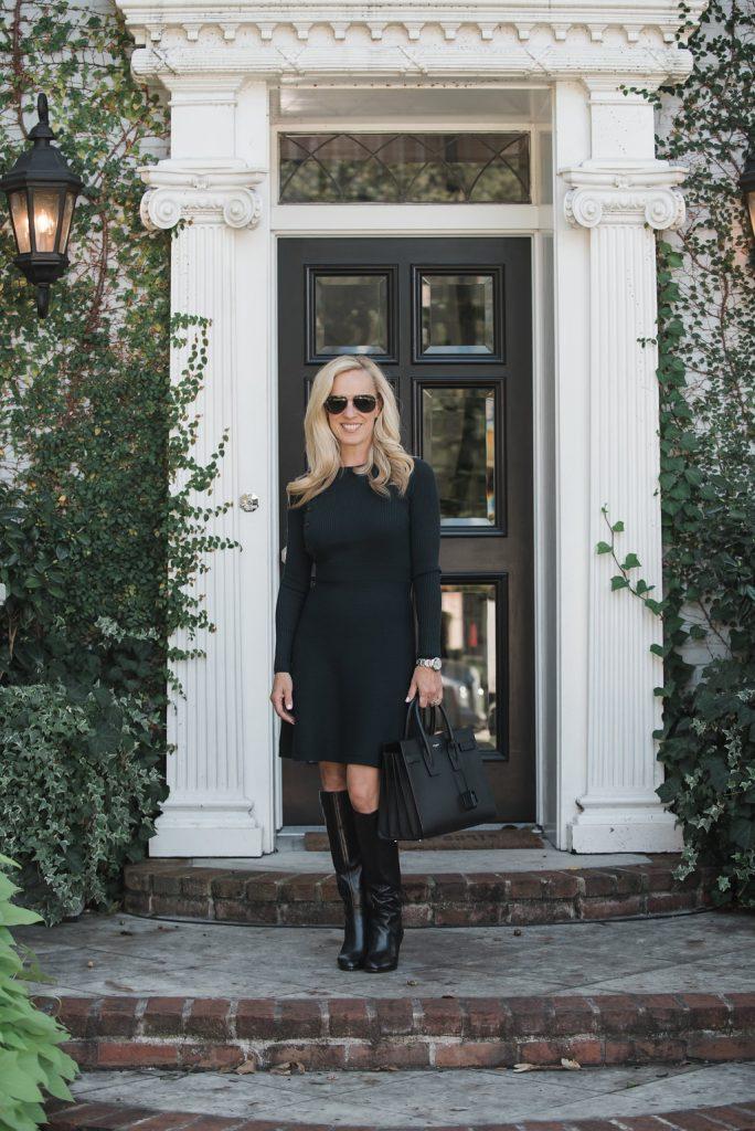 Alicia Wood, Dallas Lifestyle Expert, Dallas Lifestyle Blogger, Dallas Fashion Blogger, Navy Sweater Dress