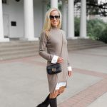 Alicia Wood, Dallas Lifestyle Blogger, Dallas Lifestyle Expert, Neiman Marcus Last Call, Cashmere Sweater Dress, Gucci Marmot