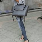 Gray Celine Belt Bag, Pantone Neutral Gray