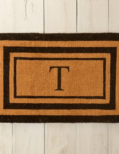 Triple Stripe Doormat