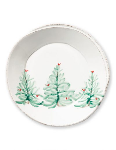 Vietri Holiday Dinner Plate