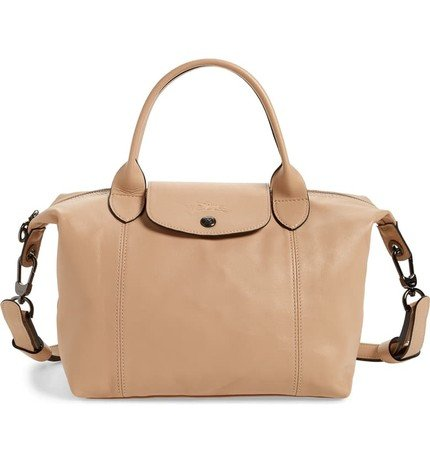 Longchamp Bag-Alicia Wood Lifestyle Fall Style
