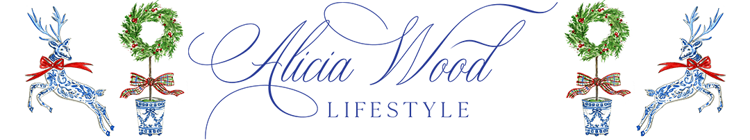 Alicia Wood Lifestyle desktop holiday header image