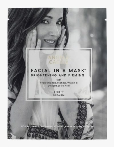Facial In A Mask