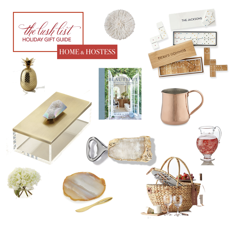 Gift Guide: Best Gifts for Hostess and Home