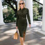 Alicia Wood, Dallas Lifestyle Blogger, Dallas Fashion blog, Veronica Beard Dress, Veronica Beard Britton Dress, Tall Ugg Boots, Tory Burch T Block Satchel