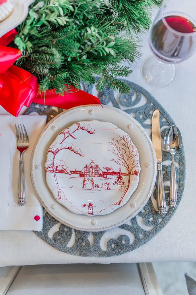 Christmas Tablescape Ideas, Juliska Winter Frolic