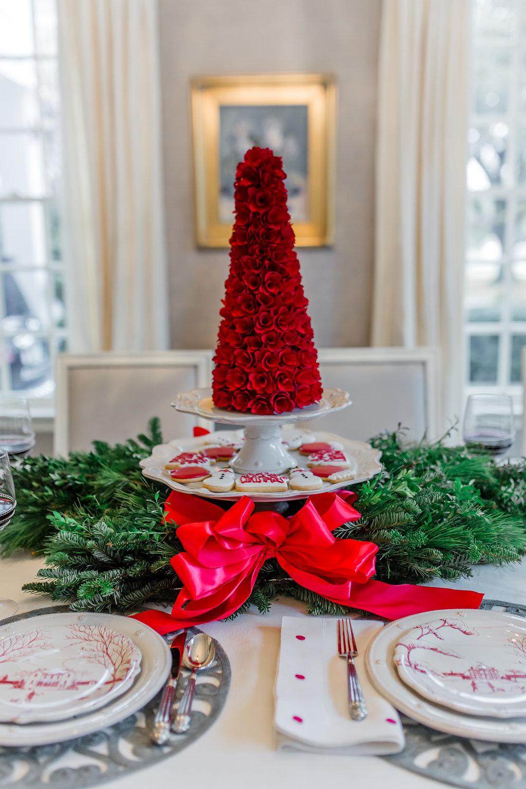Winter Frolic Christmas Tablescape with Juliska