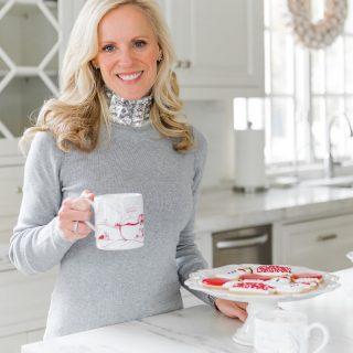 Alicia Wood, Dallas Lifestyle Blogger, Dallas Fashion Blogger, White Hot Chocolate, Williams Sonoma Peppermint