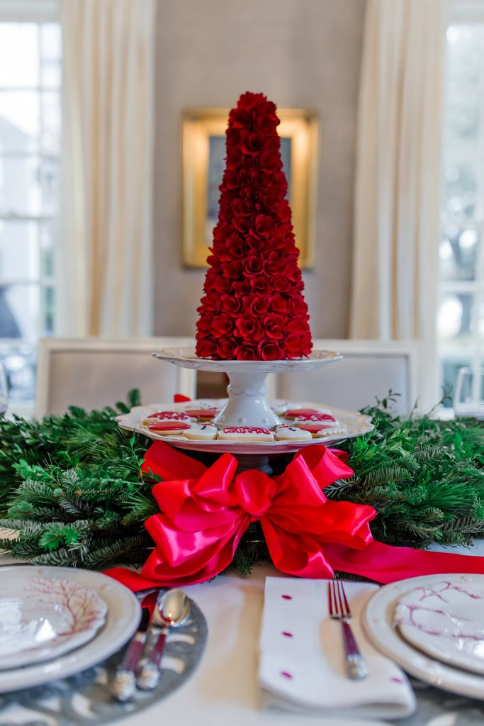 Christmas Tablescape Ideas, Juliska Winter Frolic, Highland Park Pie Lady