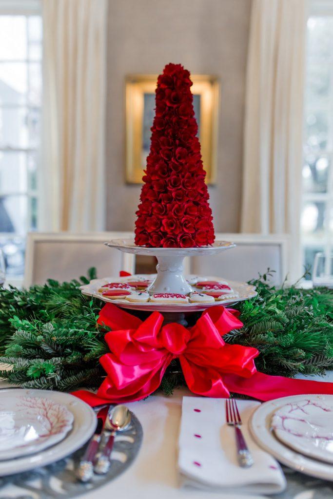 Christmas Tablescape Ideas, Juliska Winter Frolic, Highland Park Pie Lady