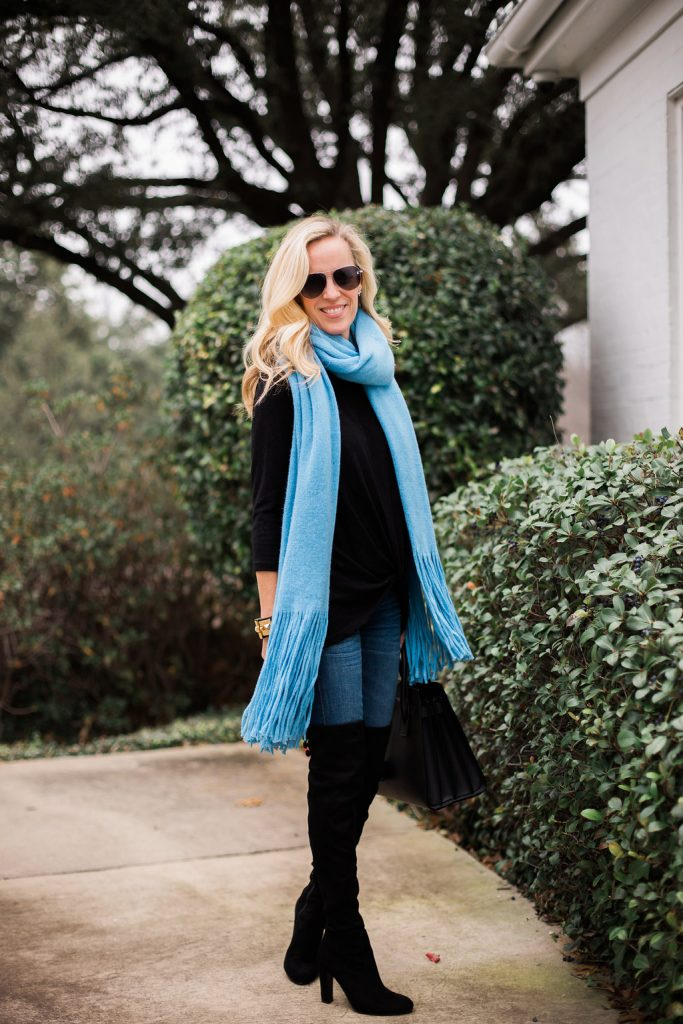 Pop of Color for Cold Winter Days from Nordstrom