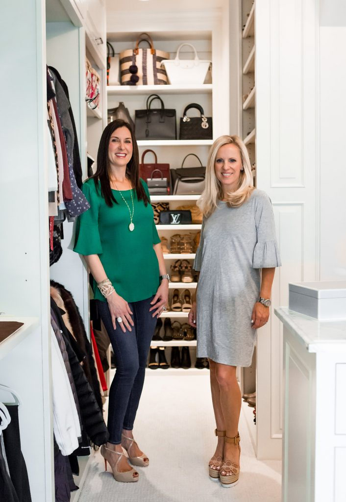 Alicia Wood, Tonia Tomlin from Sorted Out, Blogger Closet Reveal, Dallas Lifestyle Blogger