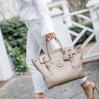 Alicia Wood, Dallas Lifestyle Blogger, Dallas Fashion Blogger, Ralph Lauren Ricky Bag, Clotheshorse Anonymous, How to Get a Designer Bag for Less,