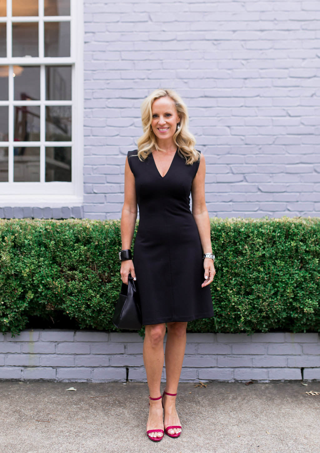 Alicia Wood, Dallas Lifestyle Blogger, Dallas Fashion Blogger, Everlane, Perfect LBD, Cuyana Mini Bow Bag