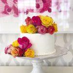 Lemon Elderflower Cake, Gluten Free Lemon Elderflower Cake