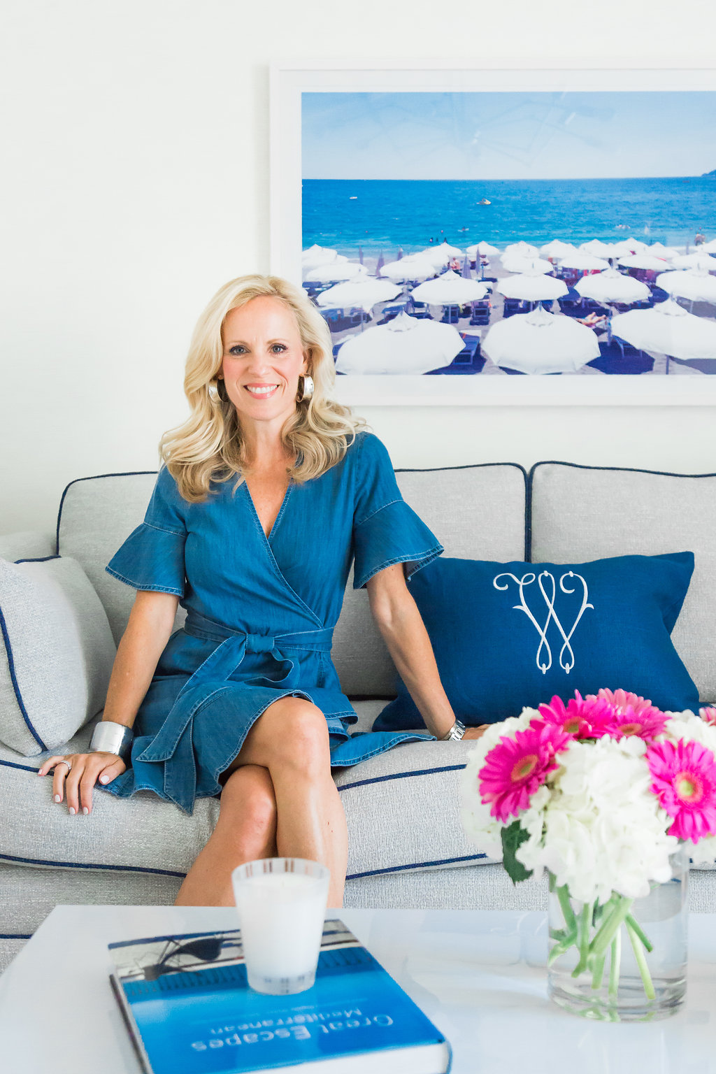 Q&A with Duralee Fabrics | Lonni Paul Collection in My Cabana