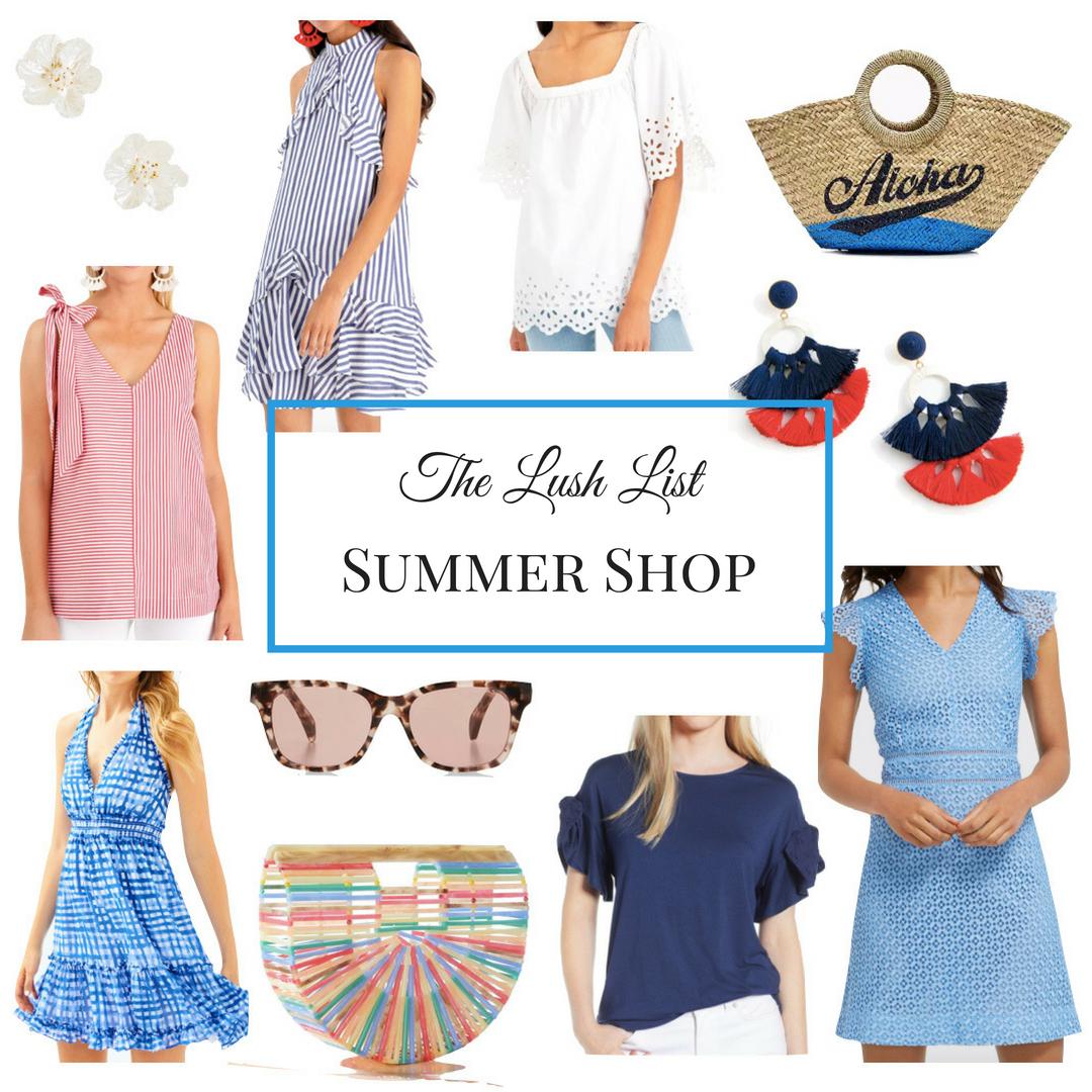 The Lush List   Summer Shop