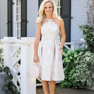 Alicia Wood, Dallas Fashion Blogger, Dallas Lifestyle Blogger, Gal Meets Glam Evelyn Dress, Julia Hengle, The Daily Edited Circle Bag,