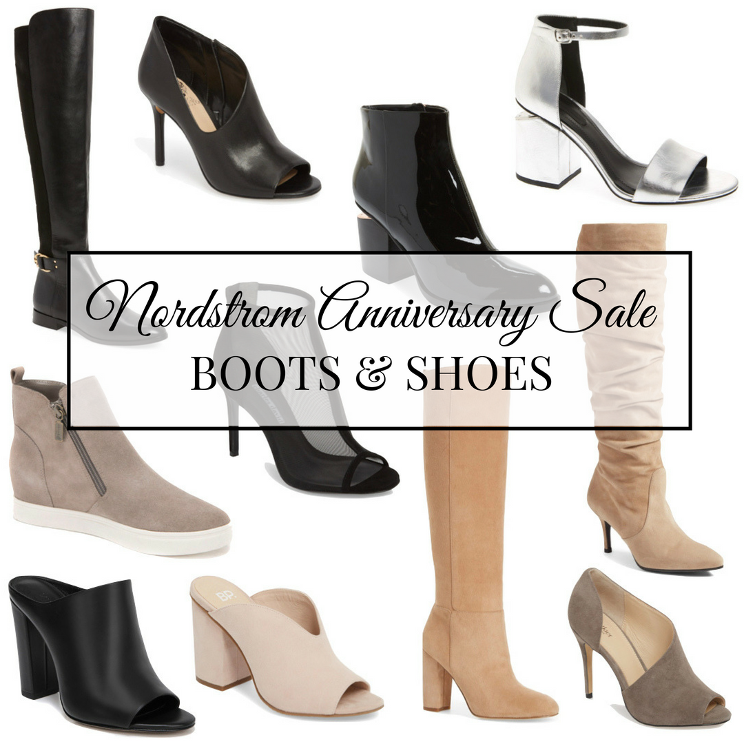 Nordstrom Anniversary Sale Shoe and Boot Edit