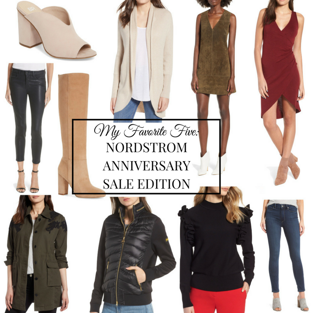 My Favorite Five: Nordstrom Anniversary Sale Edition