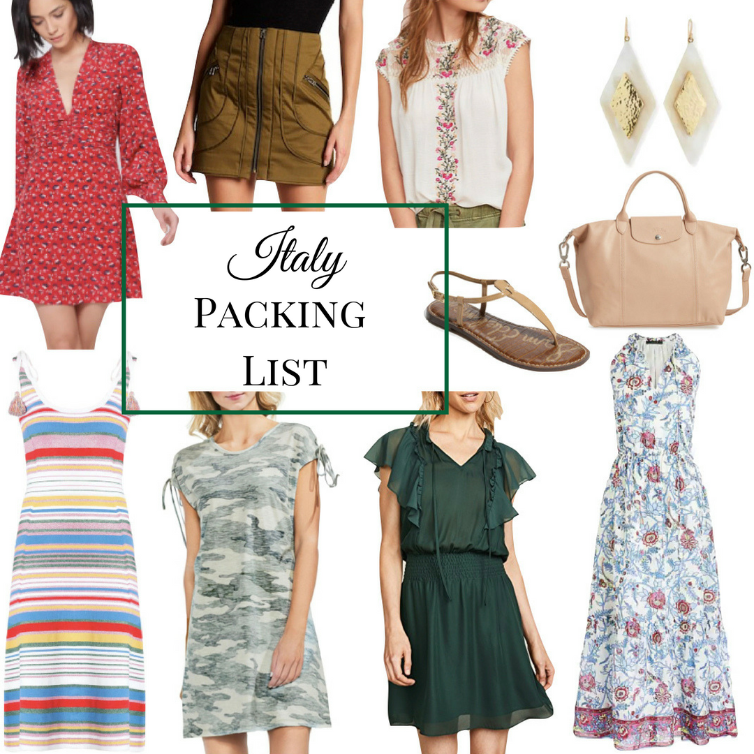 Italy Packing List | Packing for Italy in the Summer