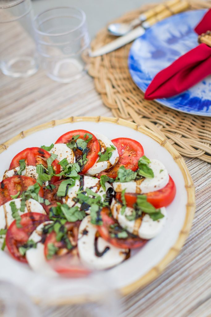 Fresh Mozzarella Tomato and Basil Salad