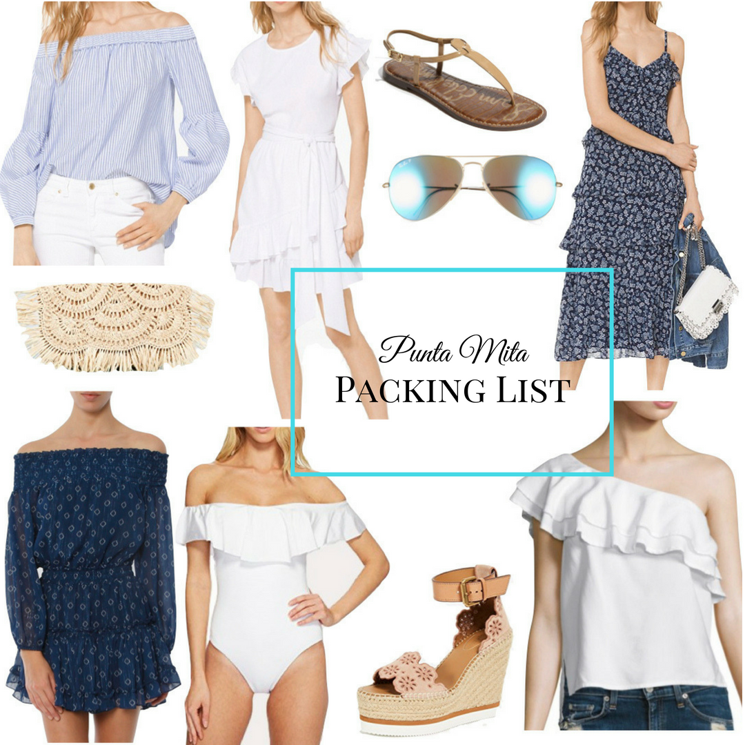 Punta Mita Packing List