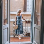 Alicia Wood, Dallas Lifestyle Expert, Dallas Fashion Blogger, What I Wore in Italy, What to Wear in Italy, Michael Kors Floral Maxi Dress